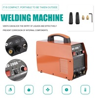 Compact Welding Machine Electric DC TIG Weld er Cutter Input Voltage 220V For Carbon Steel Alloy Cutting EU Plug