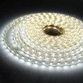 Tanbaby 220 V Tira CONDUZIDA Com Plug UE 5050 SMD Flexible LED fita 1 M/2 M/5 M/10 M 60 leds/M À Prova D' Água oudtoor Lâmpadas de Decoração Para Casa