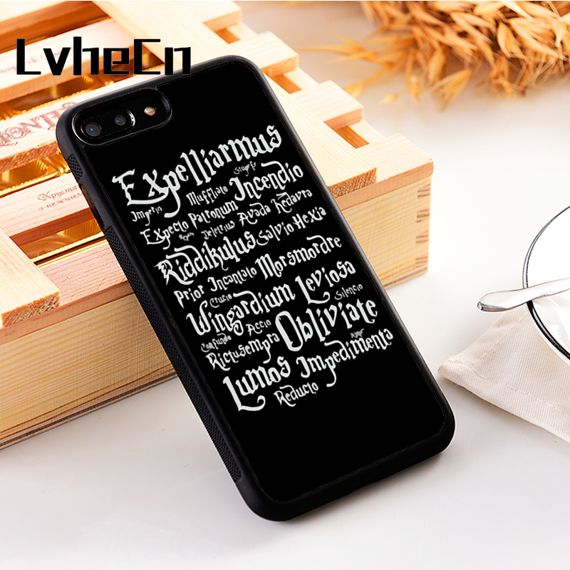 LvheCn 5 5S SE phone cover <font><b>cases</b></font> for <font><b>iphone</b></font> 6 6S 7 <font><b>8</b></font> Plus X Xs Max XR Soft Silicon TPU <font><b>Harry</b></font> <font><b>Potter</b></font> Symbol Logo image