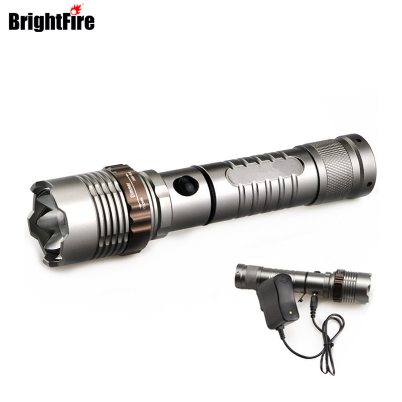 Ultra Bright 5 Modes XML-T6 Zoomable 3800LM LED Flashlight Lotus Attack Head Waterproof Torch Lantern for Outdoor a101 1600lm xml t6 5 mode ultra bright powerful flashlight led flashlight zoomable lantern 2x18650 batteries and changer