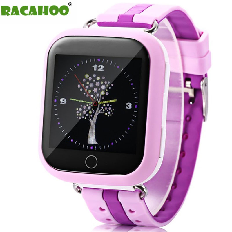 RACAHOO Smart Watch Child Watch Phone WIFI 2G GPS Tracker SIM Card SOS Smartwatch For Kids Safe IOS Android Xiaomi Samsung phone free shipping mager 10pcs lot ssr mgr 1 d4825 25a dc ac us single phase solid state relay 220v ssr dc control ac dc ac