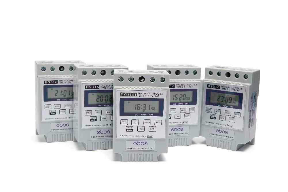 KG316T na szynę DIN cyfrowy włącznik czasowy automatyczny program/programowalny wyłącznik czasowy Microsoft programator czasowy 220VAC25A wodoodporna OB