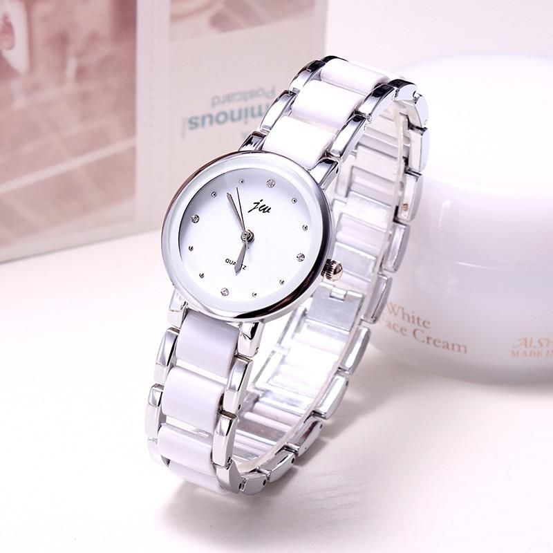 Ceramic Watch Strap 2019 Luxury Brand Casual Fashion Clock Ladies Dress Women Quartz Watch Bracelet Wristwatch Relogio Feminino