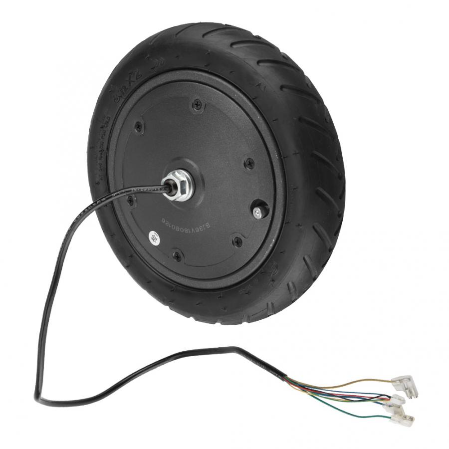 250W Electric Scooter Wheel Motor Wheel Pneumatic Tire for Xiaomi M365 Electric Scooter Tyre Replacement Part