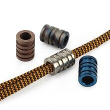 Titanium Paracord Bead Pendant