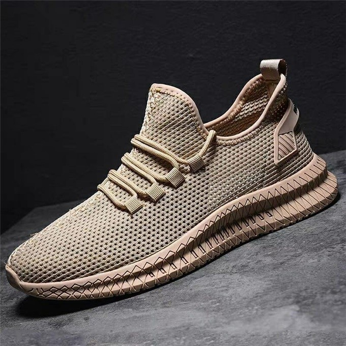 Summer Men's Shoes Mesh Breathable Fashion Baitie WorkMesh Sports Shoes Men's Shoes  Sneakers Men