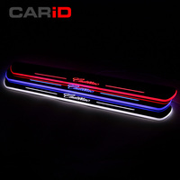 CARiD Trim Pedal LED Car Light Door Sill Scuff Plate Pathway Dynamic Streamer Welcome Lamp For Cadillac ATS 2013 2014