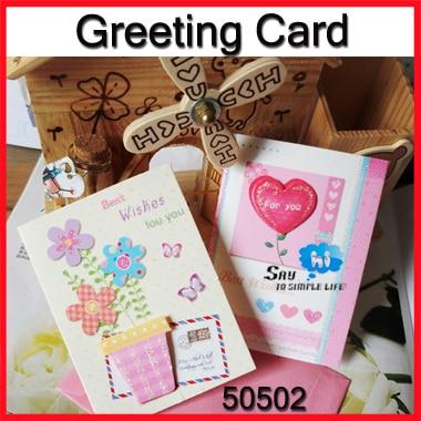 Groothandel 60 Stks Wenskaart Liefde Bloem Beste Wensen Valentijn Verjaardag Shop Gift Tag Envelop Pakket 50502 In Groothandel 60 Stks Wenskaart