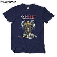 Personalizzato Nirvana Rock Style Mens Stampa T-Shirt Manica Corta Buona velocità Il Kurt Cobain Grafici maglietta di Modo Blu Navy top