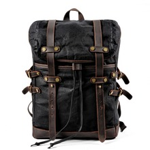Muchuan холщовая сумка, рюкзак для отдыха, Мужская водонепроницаемая сумка для студентов, дорожная сумка