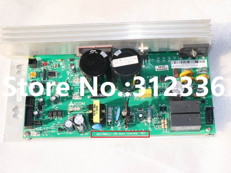 Free Shipping 220V MC2100ELS 18W Motor Controller Control panel driver treadmill circuit board motherboard suit family treadmill free shipping motor controller shua 9119e optimal step health treadmill circuit board motherboard running machine accessories
