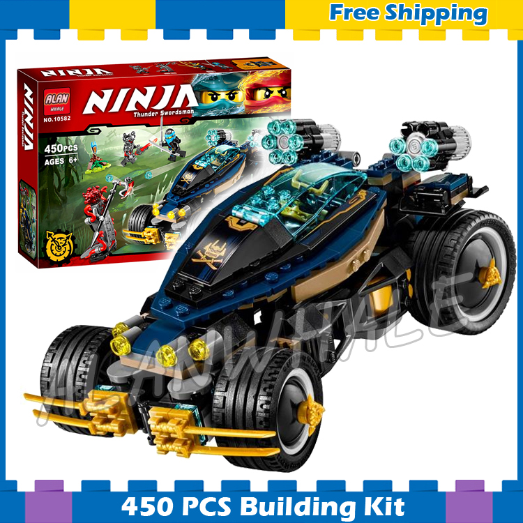 450pcs Ninja New 10582 Samurai VXL DIY Masters of Spinjitzu Model Building Blocks Bricks Kids Toys Sets Compatible With lego kazi 608pcs pirates armada flagship building blocks brinquedos caribbean warship sets the black pearl compatible with bricks