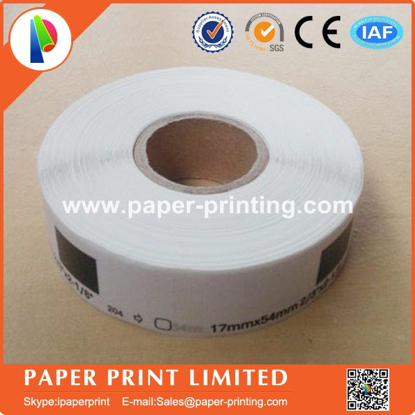 100x Rolls Brother Compatible Labels dk 11204 with 1 reusable cartridges frames dk-11204 dk11204 17x54mm 400 Labels Per Roll
