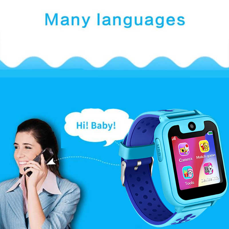 2019 LIGE новые умные детские часы 1,54 дюймов LBS базовая станция позиционирование SOS аварийный звонок умные детские часы голосовой чат + коробка