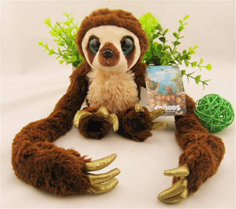 Plush Toys Dolls Long Arm Monkey The Croods Belt Monkey Soft Doll Stuffed Animal Toy 30cm mickey mouse and minnie mouse toys soft toy stuffed animals plush toy dolls