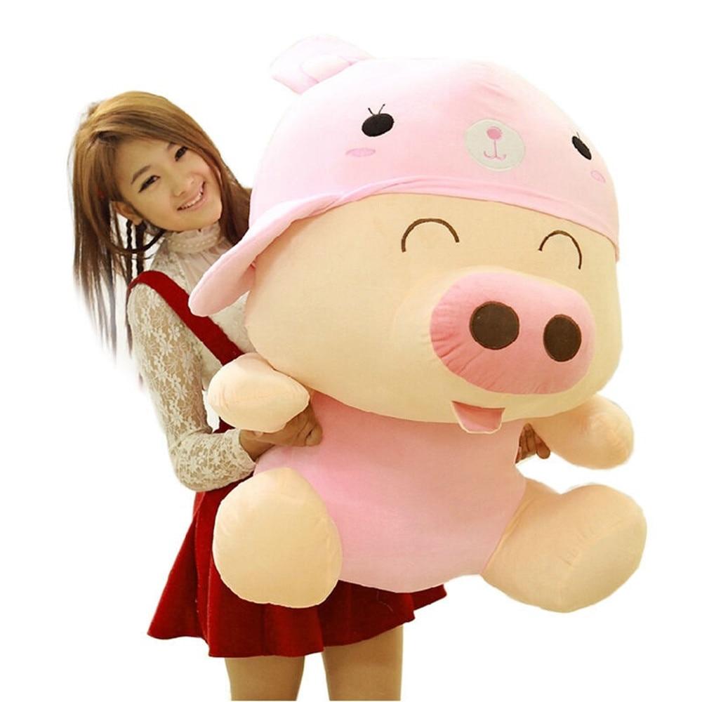 Fancytrader 37 / 95cm Giant Big Super Cute Stuffed Soft Plush McDull Pig Toy, Many Models FT50371Fancytrader 37 / 95cm Giant Big Super Cute Stuffed Soft Plush McDull Pig Toy, Many Models FT50371