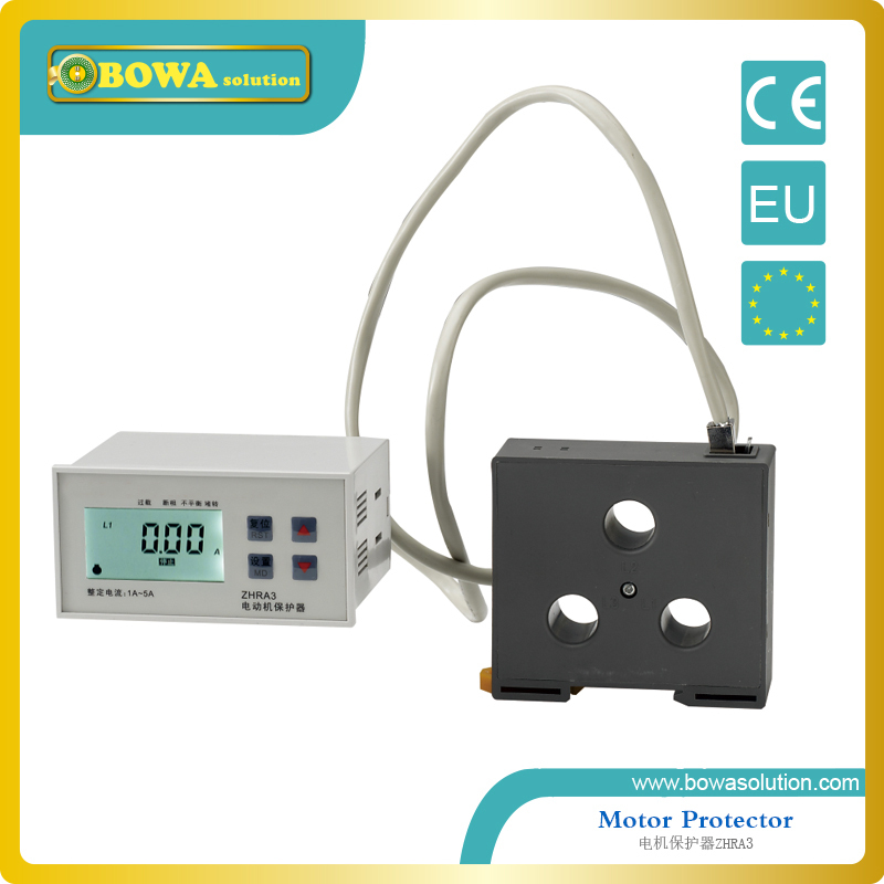 Small current motor protector for small home appliances, like air dryer, dehumidifier, fan and exhaust fan