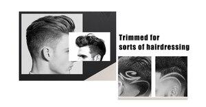 Cortadora de cabello eléctrica profesional Kemei KM-418, recortadora de pelo alipearl unice, enchufe europeo, Afeitadora eléctrica recargable para hombres Bea