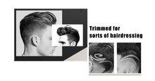 Профессиональная электрическая машинка для стрижки волос Kemei KM-418, триммер alipearl, аксессуары для волос с европейской вилкой, перезаряжаемая э...