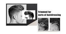 Kemei KM-418 Profissional máquina de Cortar Cabelo Elétrica Trimmer alipearl cabelo unice cabelo Plug UE Barbeador Elétrico Recarregável Homens Bea