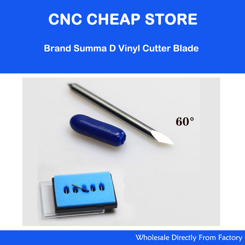 Summa D Vinyl Cutter Cutting Plotter Blades 10pcs 60 Degree Free Shipping