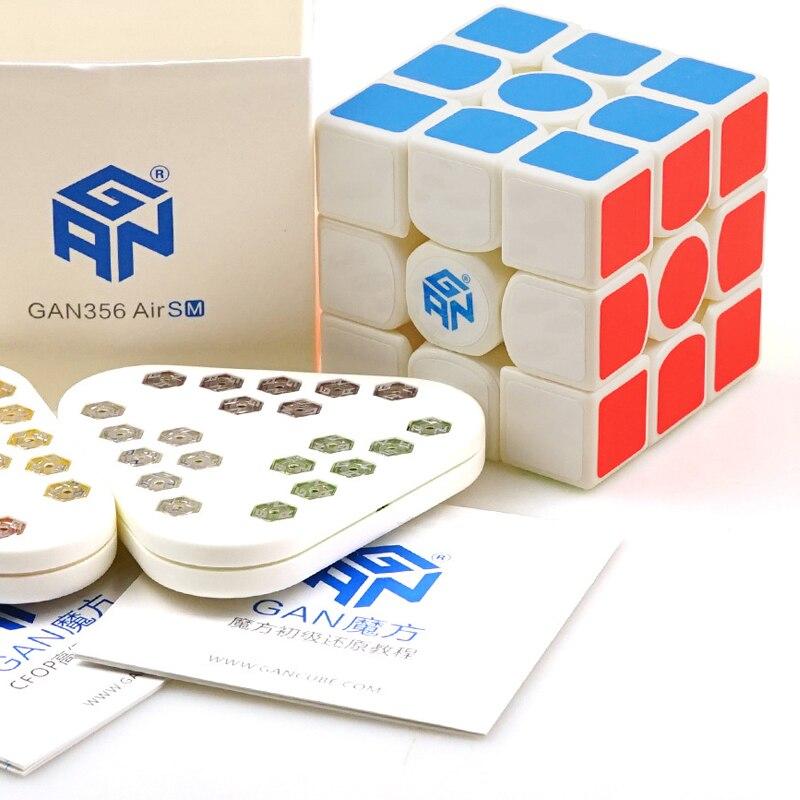 Nouveauté GAN 356AIR M magnétique Puzzle cube professionnel lisse magique Cube Gans 3x3x3 vitesse Cube torsion jouets éducatifs - 5