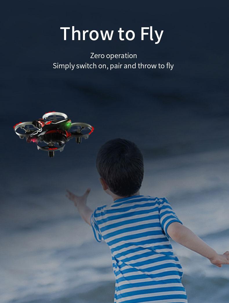 gestów 3D JJRIC quadcopter 3