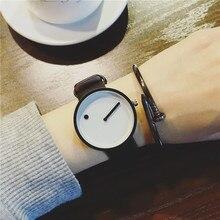 Zegarek minimalistyczny czarno-biały