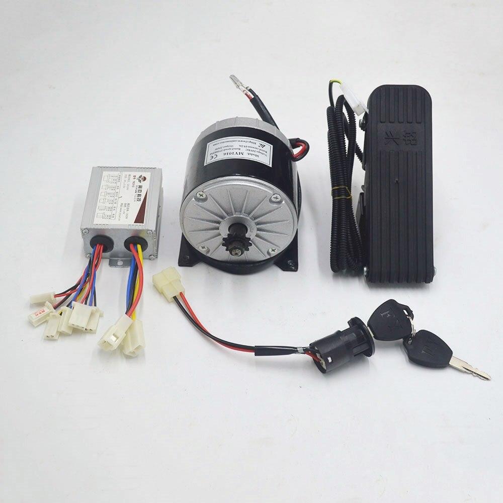 24V 350W silnik elektryczny silnik do roweru elektrycznego zestaw do konwersji MY1016 silnik elektryczny rower/skuter/trójkołowy