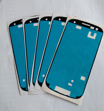 Best Sell 100pcs lot Brand New Front Frame Adhesive Glue Sticker For Samsung Galaxy S3 i9300