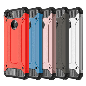 Armor Phone Case For Huawei P8 P9 P10 P20 G9 Lite Plus Honor 6X 7C 8 9 10 Mate 8 9 10 Pro P Smart GR5 Y7 Prime 2017 2018 Cover(China)