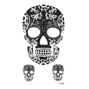 100pcs New Skull Waterproof Te