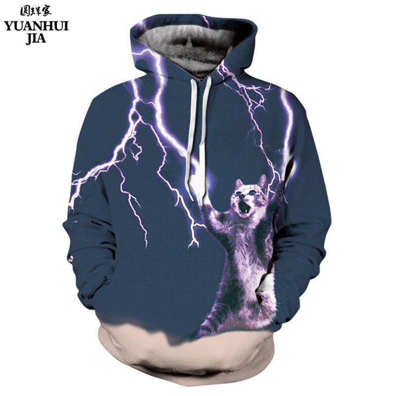 Thundercat Sweatshirt cat lightning thunder 3d hoodie Women Men Sweatshirts harajuku hooded Casual Sweats