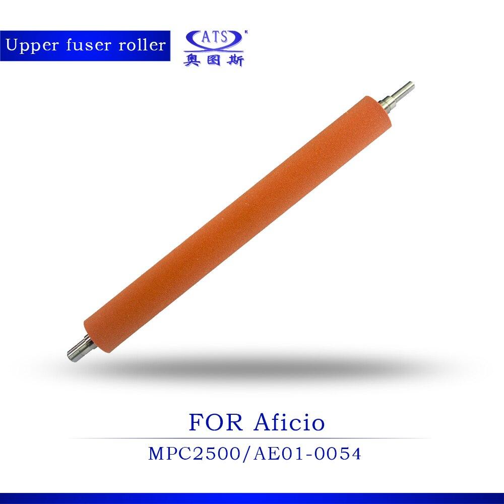 10Pcs Photocopy machine heat roller compatible For Ricoh Aficio MPC2500 upper fuser roller Copier Machine mp9000 heating roller high quality copier parts for ricoh aficio mp1100 mp1350 mp9000 upper fuser roller 2500000 pages