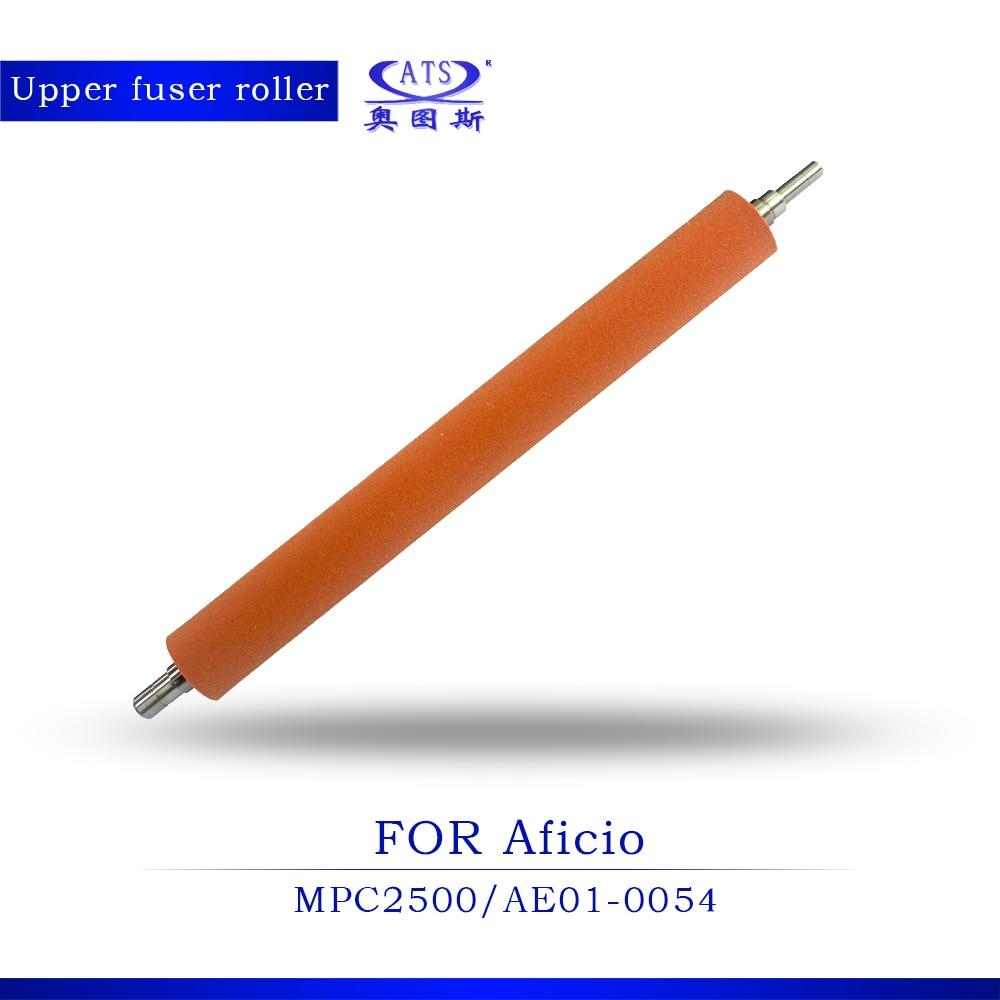 MPC 2500 Photocopy machine heat roller compatible For Ricoh Aficio MPC2500 upper fuser roller Copier Machine for ricoh aficio 850 1050 1085 1105 2090 2105 upper fuser roller for ricoh 850 af1050 af1085 af1105 af2090 af2105 heater roller