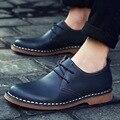 Sapatos Sapatos de Couro Genuíno dos homens Marca de Luxo Lazer Dos Homens Primavera Outono Flats Oxfords Masculinos Zapatos Hombre Homens Sapato Casual