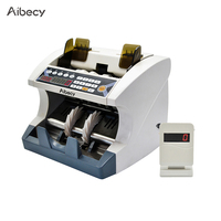 Aibecy Multi Currency Automatic Cash Banknote Money Bill Counter Counting Machine for EURO/USD/GBP/AUD/JPY/KRW company bank