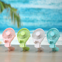 Rechargeable Li Battery Mini Fan USB Desk Stepless Speed Big Wind Ultra quiet mini ABS gift