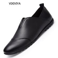 أزياء رجالي أحذية جلد طبيعي تنفس الصلبة عارضة أحذية الرجال الصيف الشباب مصمم المتسكعون الكلاسيكية القيادة أحذية للرجال