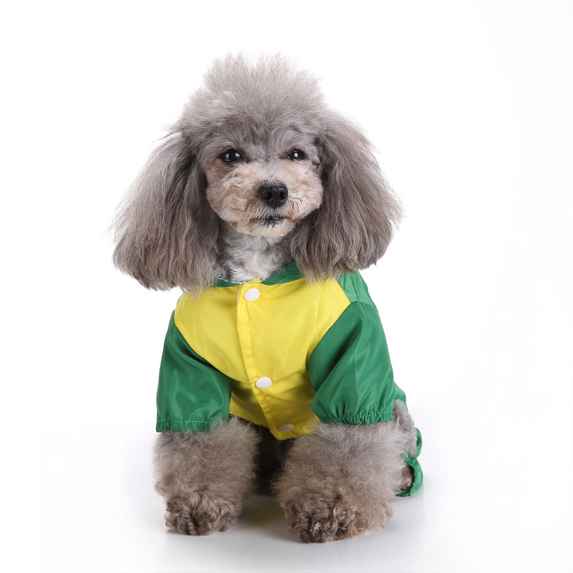 Cute Frog Rabbit Raincoat for Dogs Transparent Dog Raincoat Waterproof Hooded Cloak Summer Clothes for Dogs Dropshipping 40AT14 (5)