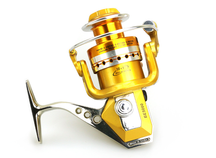 BE1000 to7000 Series Full Metal Spinning Reel Moulinet de pêche - Pêche - Photo 5