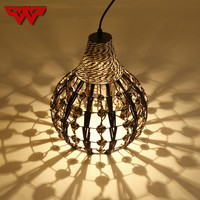 Modern minimalist vines chandeliers personalized creative restaurants bar corridors gourd lamps dining table lamps and lanterns
