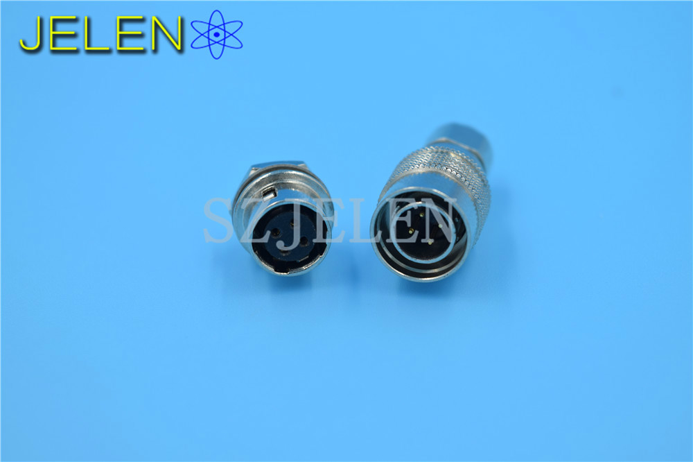 цена на 4-pin Hirose connector HR10A-7P-4P(73) / HR10A-7R-4S , male plug and female socket,Camera Connector 4 pin surveying instruments