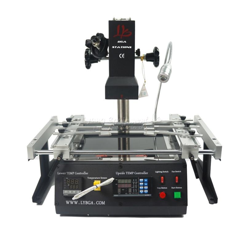 2019 NEW LY IR6500 V2 bga rework station Infrared IR bga machine with solder balls Welding Flux bga Stencils for mobile repair
