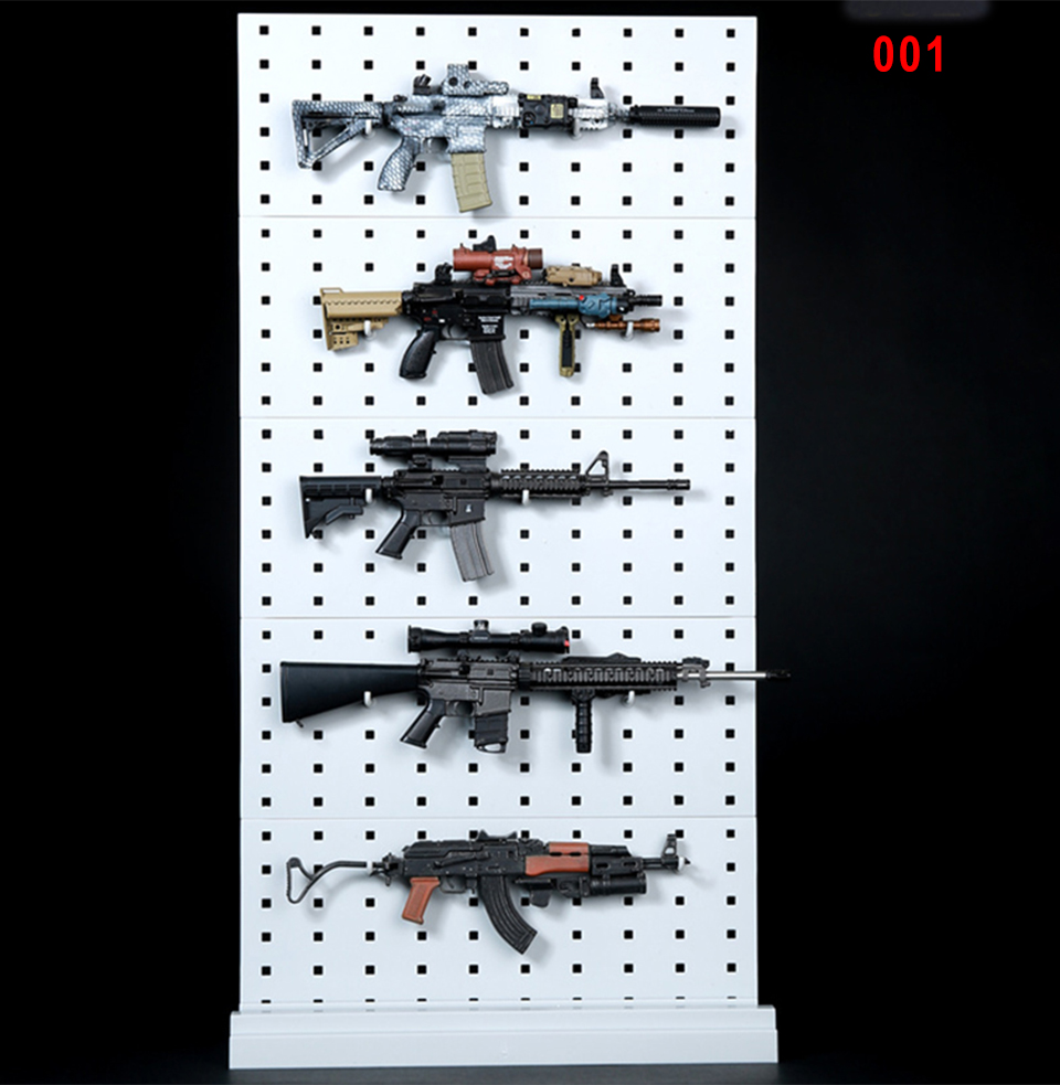 1//6 Scale Modular Weapons Wooden Display Storage Stand For Gun Rack Model Higher