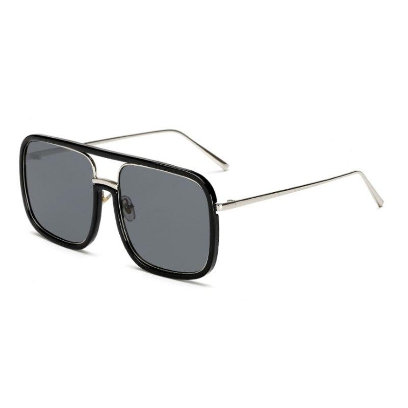 Fashion Square Sunglasses Brand Design Women Men Retro Sun Glasses Gafas Metal Shades For Male Vintage Eyewear UV400