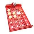 DIY 96 Eggs Bird Incubator Egg Rack Tray automatic 24 Egg Incubator Quail Parrot Incubation Tool Size 43 * 28 cm