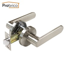 ship from us probrico wholesale dl8606snps passage keyless door lock stainless steel knobs interior door handles usa domestic delivery