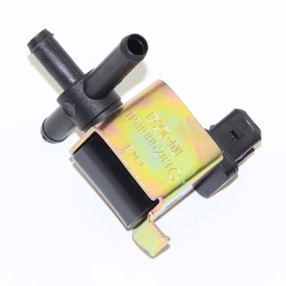 OEM N75 Turbo Boost Control Valve Solenoid Beetle GTI Passat Jetta 1.8T 058 906 283 C 058906283C 058-906-283-C