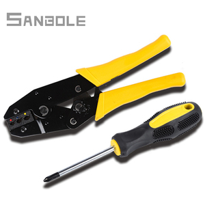 Image 3 - Hand Tool set Combination Pliers and Screwdriver For Crimping Cutting Stripping Wire Electrician Hand Tools Kit A30J